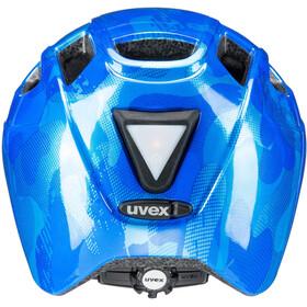 UVEX Finale Helmet LED Kinder blue